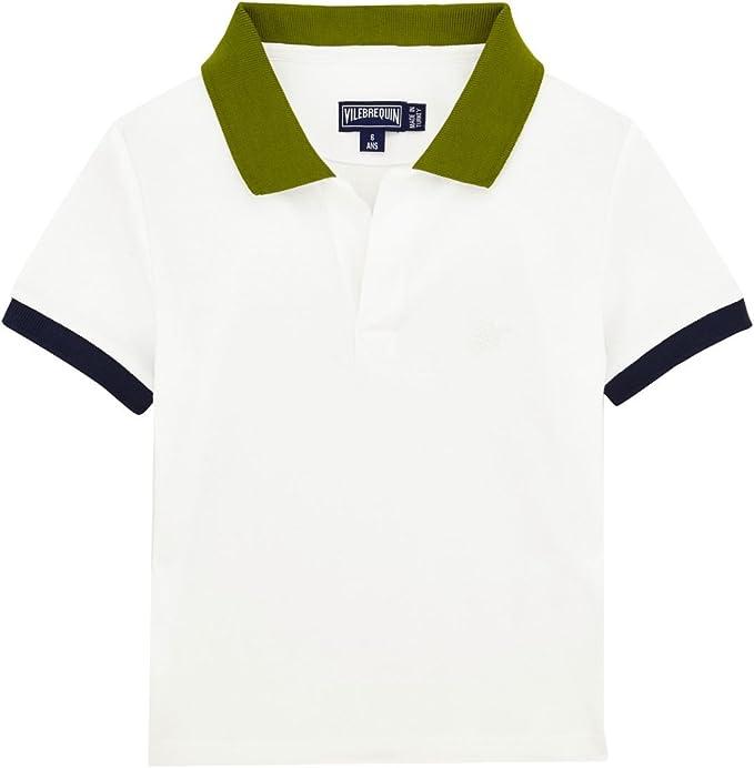 VILEBREQUIN - Polo en piqué de algodón Multicolor para niño ...
