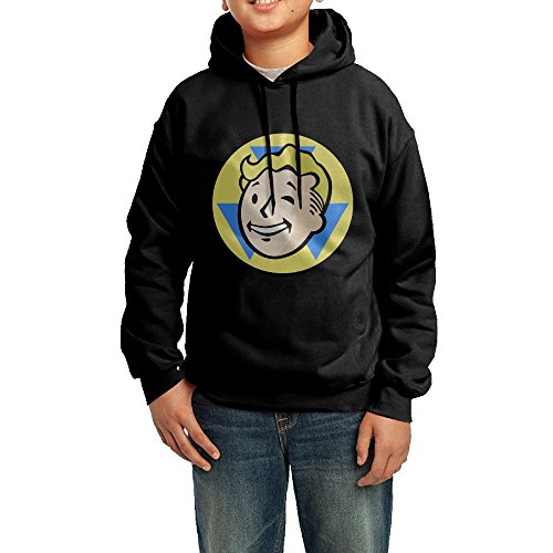 Price comparison product image GGDD Boys & Girls Fell Out Game Head Hip-Hop Classic Hoodie Hoodies Casual Style L Black
