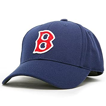 ae85f2824 Boston Red Sox 1946-1951 MLB Cooperstown Collection Fitted Cap (6 7 ...
