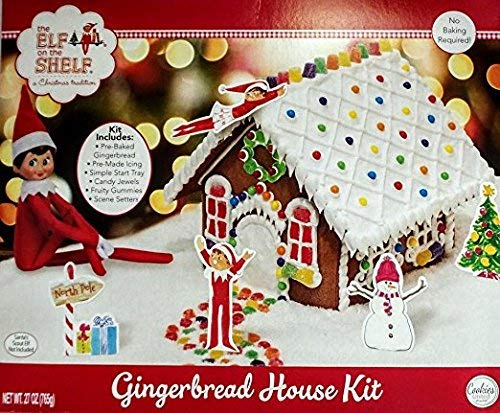 - The Elf on the Shelf An Elf's Story Gingerbread House Kit by Cookies United
