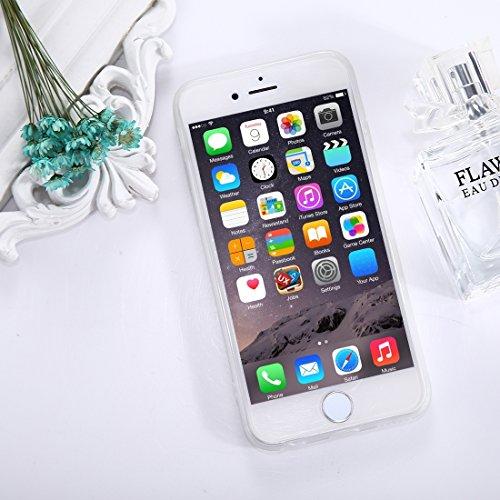 Protege tu iPhone, Para el iPhone 6 más y 6s más patrón del girasol TPU Dropproof caso protector de la contraportada Para el teléfono celular de Iphone. ( SKU : Ip6p1653e ) Ip6p1653f
