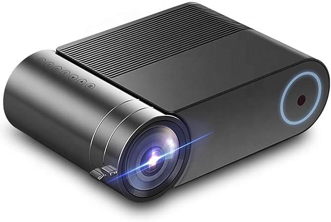 AXDNH Proyector Minl, 1080p HD Proyector de Video Proyección máxima de 140 Pulgadas Tamaño LED Sin Pantalla TV Compatible AV/VGASD/HDMI Proyector portátil de Cine en casa: Amazon.es: Hogar