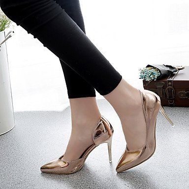 Mary Jane Casual silver Feather Boots Wedge LvYuan Women's ggx PU Heel Winter 6fXOIR
