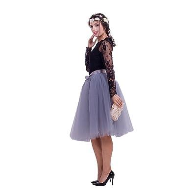 35% de Descuento para la Falda Plisada Mesh Plisada: Ropa y accesorios