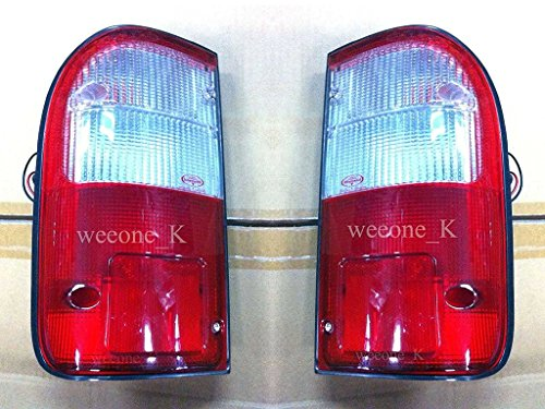 1 Pair Side Rear Taillights Tail Light Lamps Toyota Hilux Pickup Mk4 1998 1999 2000 2001 2002