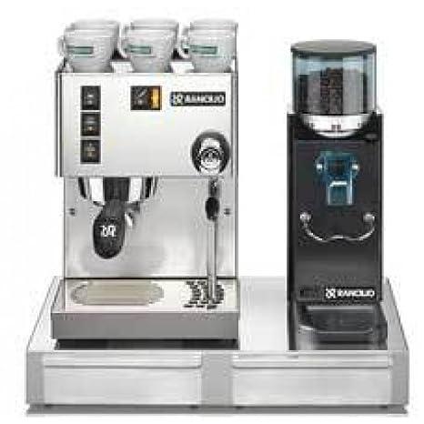 Amazon.com: cafetera de espresso Rancilio Silvia/Rocky ...