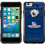 Coveroo Commuter Series Cell Phone Case for iPhone 6 Plus - Retail Packaging - Gonzaga University Repeating