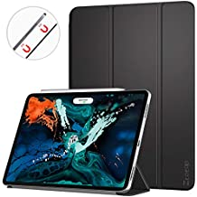 Ztotop Case for iPad Pro 12.9 Inch 2018, Strong Magnetic Ultra Slim Minimalist Smart Case, Trifold Stand Cover with Auto Sleep/Wake for New iPad Pro 12.9 Inch 2018, Black