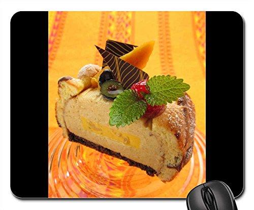 - Mouse Pads - Cake Tahiti Mango Dessert Fruit Sweet Suites