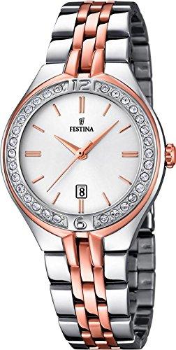 Festina stainless steel women watch F16868/2