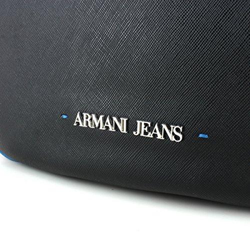 ARMANI JEANS Borsa Hobo Spalla Ecopelle Saffiano 922559 CC856