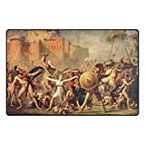 LEEZONE Sabine Women Printing Rectangle Floor Mat Carpet