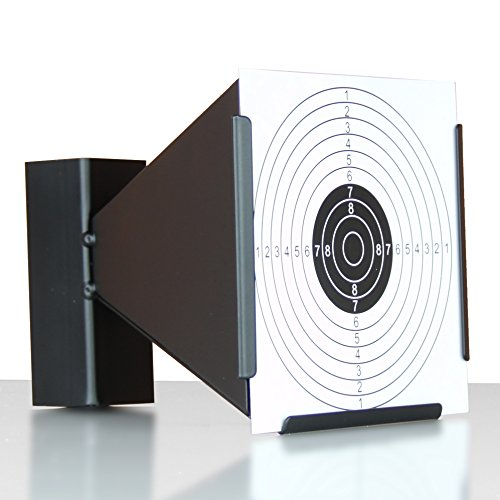 Crosman Target Trap - Shooting target air gun pellet trap inc 10 paper targets in 2 designs