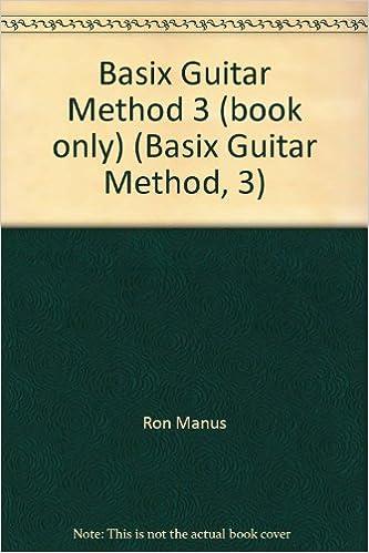 basix guitar method 3 book only basix guitar method 3