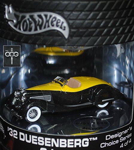 hot-wheels-oil-can-32-duesenberg-sj-4-of-4-designers-choice-series-1-7000-production-run