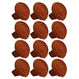 (12 Pack) Trimmer Edger Spool Cap Covers For Cordless Grass Trimmers-12pk