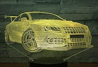 JSOXNE Multi-select cool sports car coche noche luz cambio de ...