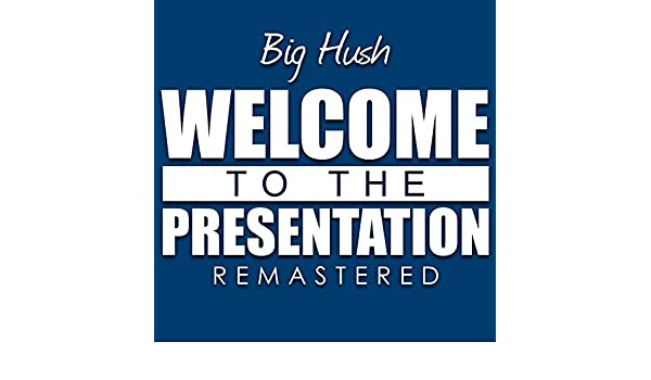 Welcome to the presentation by big hush on spotify.