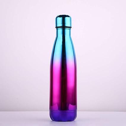 Botella De Agua Acero Inoxidable, 500 ml Botella de Agua de ...