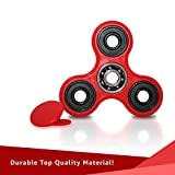 Tri-spinner Fidget Toy Stress Reducer, Hybrid Ceramic Bearing Non-3D Printed Fidget Spinner for Autism and ADHD Kids/Adult Funny Anti Stress Toys