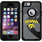 OtterBox Apple iPhone 6/6s Black Defender Case with Iowa Watermark, Full-Color Design