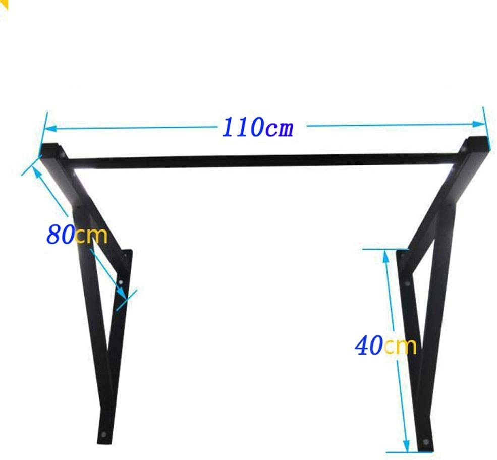 Barre de Traction Murale,Barre de Tractions,Chin Up Pull Up Bar total Workout Upper Body Heavy Duty Home Fitness Porte exercice Bar int/érieur Mounted Gym Fitness adapt/é for Kipping Pullups et Muscle U