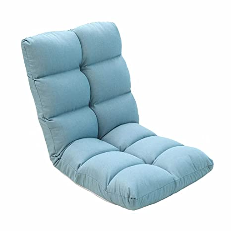 Lazy Sofa Lazy Couch Tatami Foldable Single Small Sofa Bed Computer Back Chair Floor Sofa Bay Window Chair Multiple Colors Color : Beige