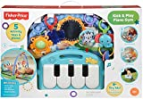 Fisher-Price Kick and Play Piano Gym, Blue