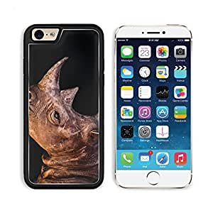 Rhinoceros Rhino Animal Wildlife Nature Apple iPhone 6 TPU Snap Cover Premium Aluminium Design Back Plate Case Customized Made to Order Support Ready Liil iPhone_6 Professional Case Touch Accessories Graphic Covers Designed Model Sleeve HD Template Wallpa by lolosakes