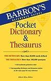 #10: Barron's Pocket Dictionary & Thesaurus