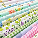 flic-flac Cotton Craft Fabric Bundle Squares