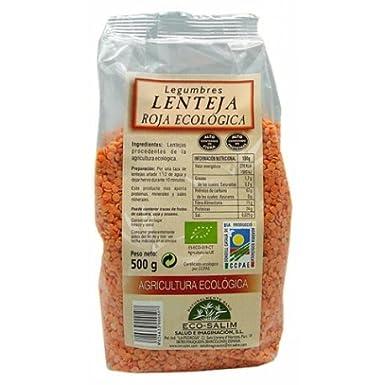 Lenteja Roja (Agricultura Ecológica) Sin Gluten 500 Grs ...