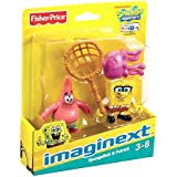 Imaginext, SpongeBob Squarepants, Exclusive Figures, SpongeBob & Patrick, 2-Pack