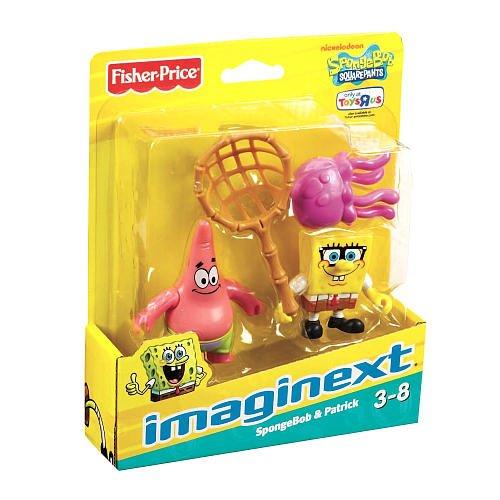 Imaginext SpongeBob Squarepants Exclusive Figures