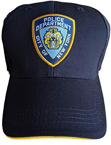 Gorra de béisbol con licencia oficial del Departamento de Policía de la Ciudad de Nueva York: Amazon.es: Ropa y accesorios
