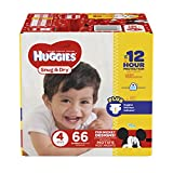 Health & Personal Care : HUGGIES Snug & Dry Diapers, Size 4, 66 Count, BIG PACK (Packaging May Vary)