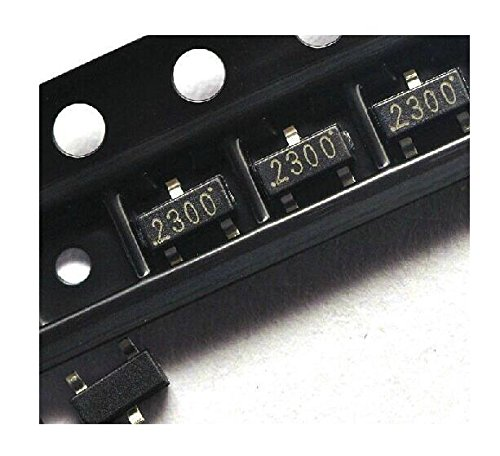 Exiron 100 PCS SI2300 SI2300DS N-Channel 30-V (D-S) MOSFET SOT-23 New