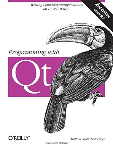Programming with Qt: Writing Portable GUI applications on Unix and Win32 by Matthias Kalle Dalheimer (2002-02-01) by O'Reilly Media; 2 edition (2002-02-01)