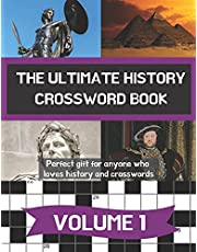 The ultimate history crossword book: Perfect gift for anyone who loves history and crosswords   A4