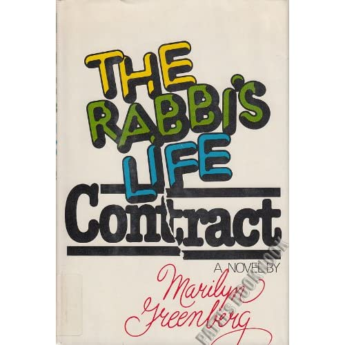 The Rabbi's Life Contract Marilyn Greenberg