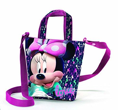Coriex LOVING Disney Minnie Handtasche Kinder-Sporttasche D96023 MC, 20 cm, Multicolor