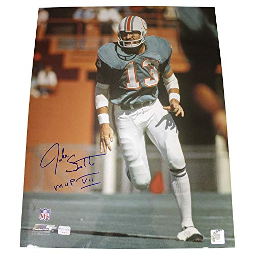 - Jake Scott Autographed Signed 16x20 Photo Miami Dolphins - Certified Authentic