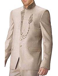 INMONARCH Hombres Marfil fascinante traje Jodhpuri 2 PC JO0216