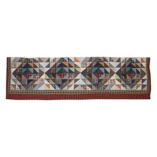 Red Diamonds, Curtain Valance 54 X 16 (Patch Magic Square Diamond)
