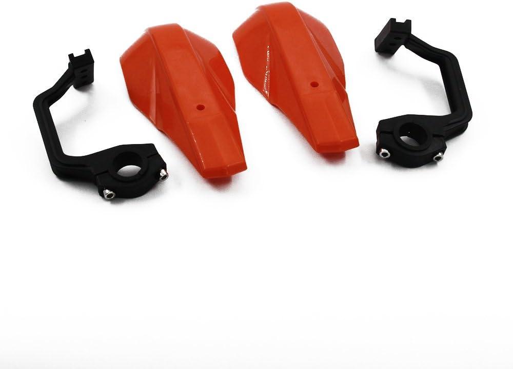 22 mm et 28 mm Pour moto hors route Yamaha Honda K.T.M SX XCF Prot/ège-mains universels en plastique PP pour moto Kawasaki Suzuki