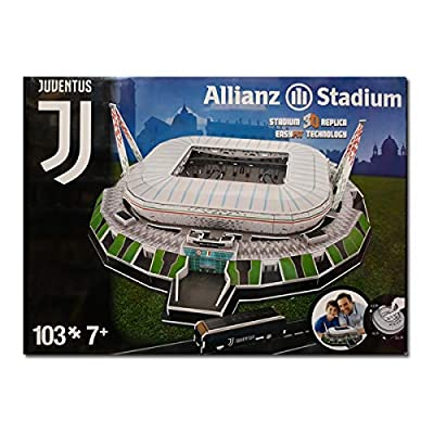 Allianz Stadium Puzzle 3d Juventus