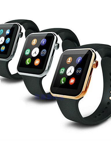 A99 Wearables Smart Watch , Hands-Free Calls/Media Control/Message Control/Camera Control for Android &iOS , silver