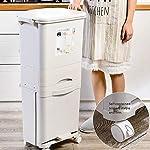 SZSY-Basura-de-Gran-Capacidad-Puede-Pedal-del-hogar-Cubo-de-la-Basura-38L-separacion-en-seco-y-en-humedo-con-Cuchara-de-Cocina-Tapa-de-Almacenamiento-de-clasificacion-Doble-contenedor-de-Basura