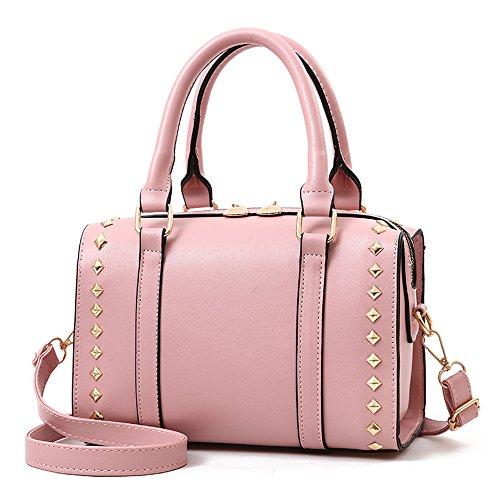 Rosa Elegante Estilo Sweet Lady Borsa Gwqgz Bolso Brown Marrone Pink Signora Stile Dolce 2018 Nuovo Nuevo wEaxX6