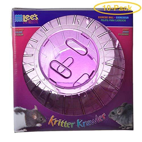 Lees Kritter Krawler - Assorted Colors Jumbo - 10'' Diameter - Pack of 10
